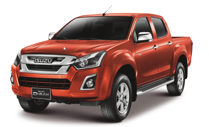 Isuzu pick-up Double Cab 2017| Traen