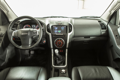 Isuzu pick-up - interieur